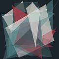 Retro Polygon Pattern by Frank Ramspott