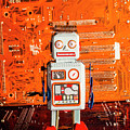 Retro Robotic Nostalgia by Jorgo Photography - Wall Art Gallery