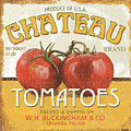 Retro Veggie Labels 4 by Debbie DeWitt