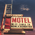 Retro Vintage Motel Sign by Mr Doomits