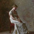 Retrospection by Thomas Eakins