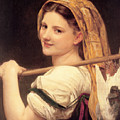 Return From The Market by William Bouguereau