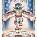 Return Of The Blue Star Kachina by Amy S Turner