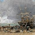 Return Of The Terre-neuvier by Eugene Boudin