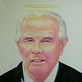 Reverend Pat Robertson by Gary Kaemmer
