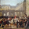 Revolution Of 1830 Departure Of King Louis-philippe For The Paris Townhall Horace Vernet by Eloisa Mannion