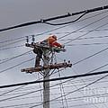 Rewiring A Power Pole by Scimat