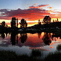 Reymann Lake Sunset - Yosemite by Bruce Lemons