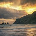 Reynisdrangar Sunset by James Billings