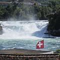 Rhine Falls In Switzerland by Travel Pics
