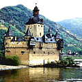 Rhine River Castle by Paul Sachtleben