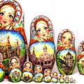 Rhinestones Of Moscow by Viktoriya Sirris
