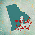 Rhode Island Anchors by Brandi Fitzgerald