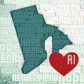 Rhode Island Cities by Brandi Fitzgerald