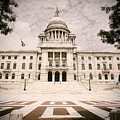 Rhode Island State House by Lourry Legarde