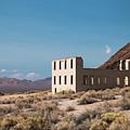 Rhylolite School Nevada by Kristia Adams