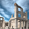 Rhyolite Ghost Bank by Debbie D Anthony