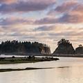 Rialto Beach Sunset On The Pacific Coast In Washington by Brandon Alms