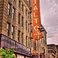 Rialto Square Theatre by Fred Hahn