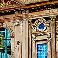 Rialto Theatre Montreal Architecture Historic Cinema Painting Carole Spandau by Carole Spandau