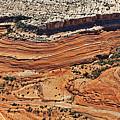 Ribbon Of Rock In Canyonlands by Jean Clark