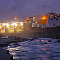 Ribeira Grande At Night by Gaspar Avila