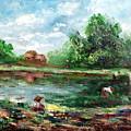 Ricefield by Emmanuel Gamonez