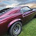 Rich Cherry - '69 Mustang by Gill Billington