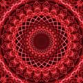 Rich Red Mandala by Jaroslaw Blaminsky