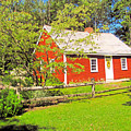 Richard Hunnewell House, Scarborough Maine by Elizabeth Dow