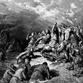 Richard I The Lionheart Delivering Jaffa 1877 by Dore Gustave