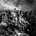 Richard I The Lionheart In Battle At Arsuf In 1191 1877 by Dore Gustave