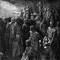 Richard I The Lionheart Massacres Captives In Reprisal 1877 by Dore Gustave