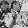 Richard Nixon Laughing by Richard Lund