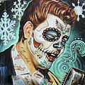 Richie Valens Day Of The Dead by Chuck Kuhn