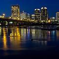 Richmond Night Skyline by Jemmy Archer