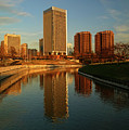 Richmond Skyline And Canal by Doug Berry