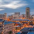 Richmond Skyline At Night by Tim Wilson