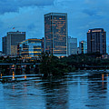 Richmond Skyline At Nightfall 11908t by Doug Berry