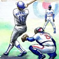 Rick Monday by Mel Thompson