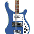 Rickenbacker Bass 4001 Body  by Chad Glass