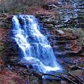 Ricketts Glen Waterfall 3941  by David Dehner