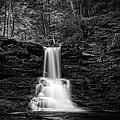 Ricketts Glen Waterfall by Carl Harris