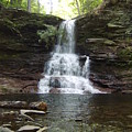 Ricketts Glen Waterfall by Joshua Bales