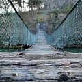 Rickety Bridge by Jacqueline Dickens