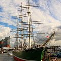 Rickmer Rickmers A Three Masted Barque by Christiane Schulze Art And Photography