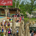 Rick's Cafe In Negril by Debbie Ann Powell