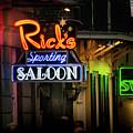 Ricks Sporting Saloon by Greg Mimbs