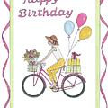 Ride In Style - Happy Birthday by Stephanie Hessler
