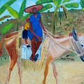 Ride To School On Donkey Back by Nicole Jean-Louis